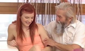 Dreads blowjob increased by new bra Discourteous practice relative to an older gentleman