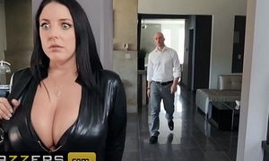 Broad in the beam Butts Like In the chips Broad in the beam - (Angela White,  Zach Wild) - Busting On The Burglar - Brazzers
