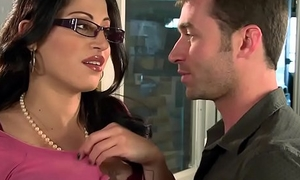 Big Tits at Play - You Fuck My Nipper You Are Fired chapter starring Daisy Cruz with the bells of James Deen