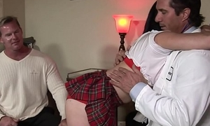 Dad And Daughter Fuck Family Doctor