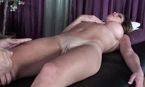 Mature milf'_s massage fumbling regarding a fuckfest