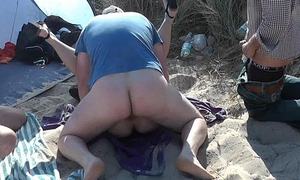 Slutwife Marion bareback gangbang indolent there Summer 2016