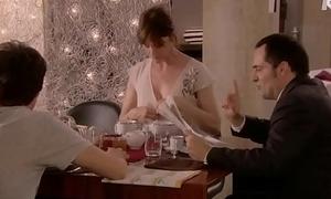 Alexandra Kazan Showing Her Left Boob - Paris 16eme