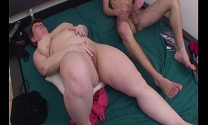 Fat Mama Anal Fucked Relative to Young Boy'_s Room