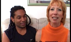 Sexy Older Moms Loves Shafting Big Sooty Flannel in Interracial Cag go away from