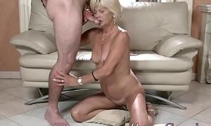 Kinky old pensioner sucks