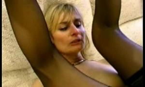 Blonde full-grown cheats on her husband