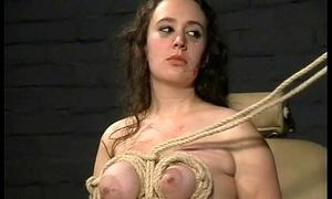 Extreme Tit Torments and Bloodthirsty Punishment be incumbent on english amateur slavegirl Nimue