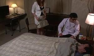 Araki Hitomi busty milf desires for a hard fuck