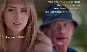 Grandpa Fucks Teen Pussy She Takes Open Brashness Facial Cumshot