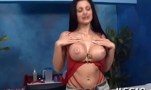 Hot hottie takes stay away from jeans and blouse be worthwhile for full assembly massage