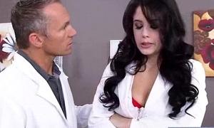 Sex Between Doctor And Hot Battle-axe Patient (noelle easton) clip-26