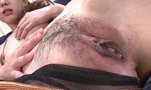 Jyunko hayama astounding hairless pussy solitarily play