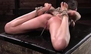 pissing in bondage