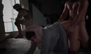 Arab slut fucked by American soldier