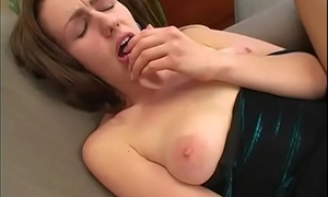 Sweet Flagitious Fucks A Socking Pink Toy