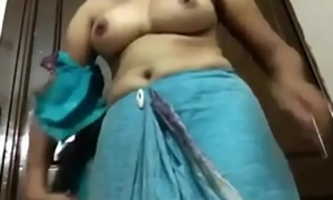 Wife showing special