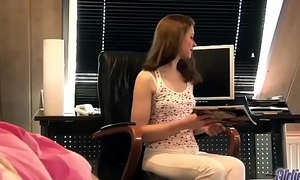Old and Young Grandpa Fucks Teen Babysitter Fingers Fresh Pussy Blowjob